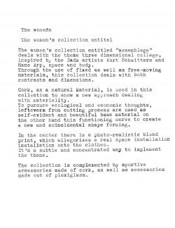 Kollektionstext_Schreibmaschine