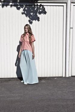blouse: Rubin |  skirt: Limonit