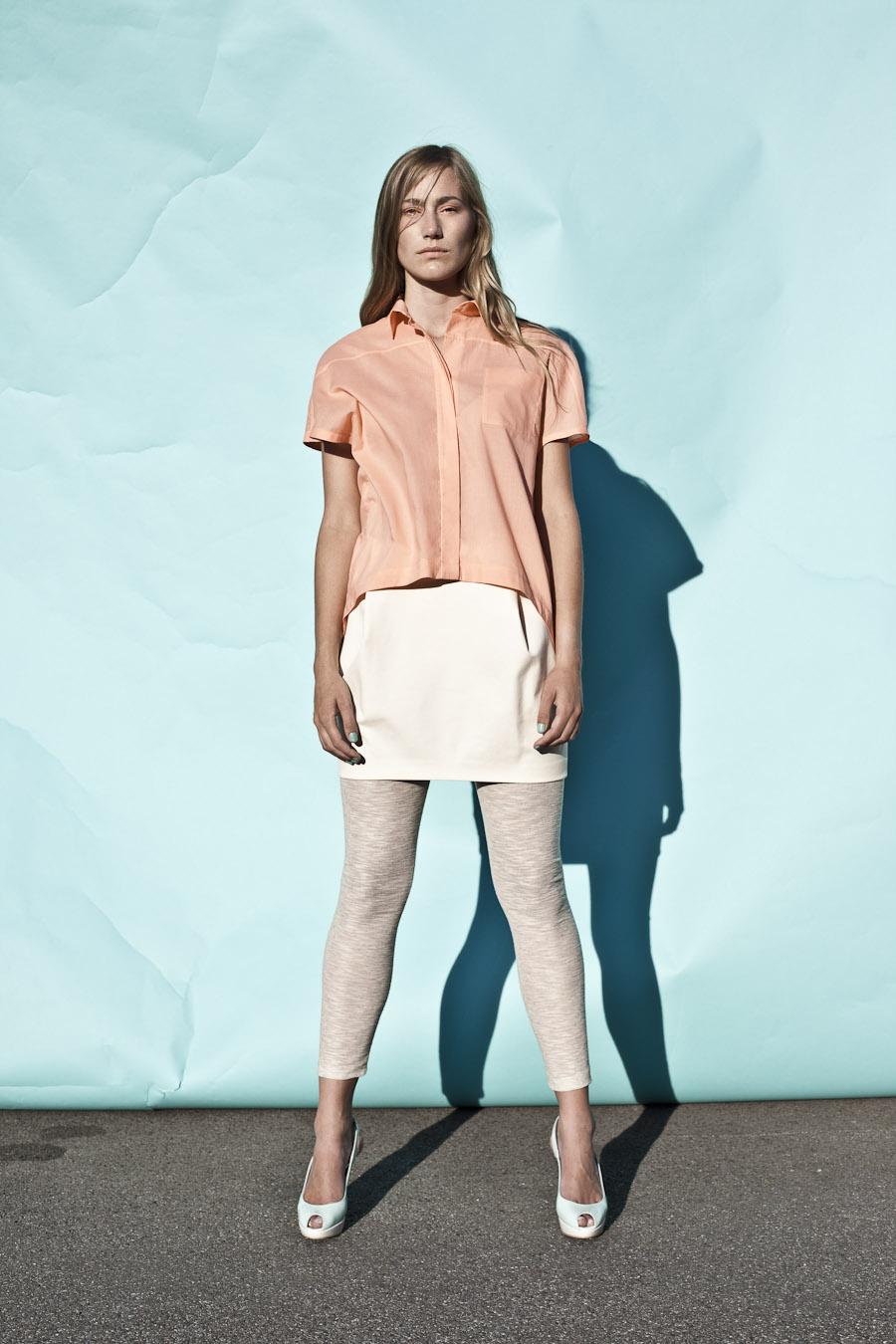 blouse: Rubin |  skirt: Alabaster |  leggin: Apatit